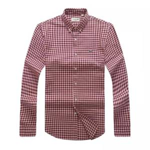 Lacoste Classis Long Sleeve Shirt - Red