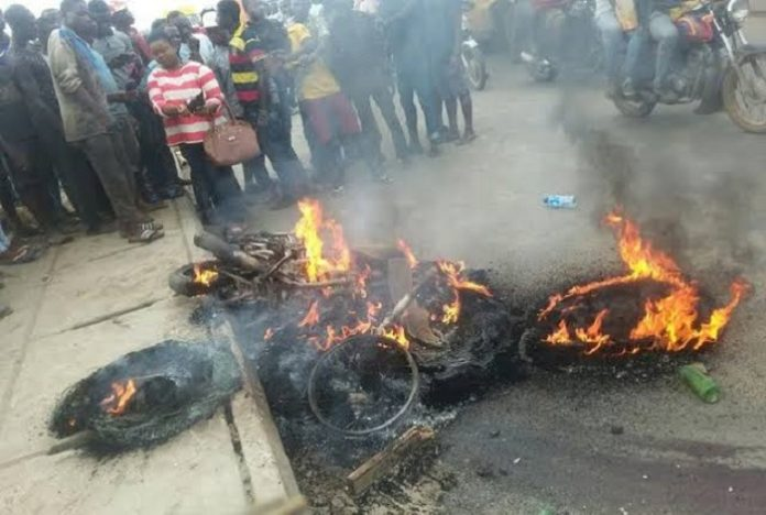 Mob Kills Vehicle Inspection Officer Who Chased 3 Okada Riders To Their Death