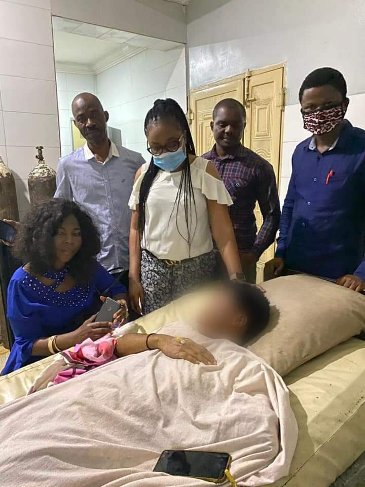 Wife of Abia Governor Visits AbiaPoly Student Allegedly Raped by Policemen, Assures of Justice