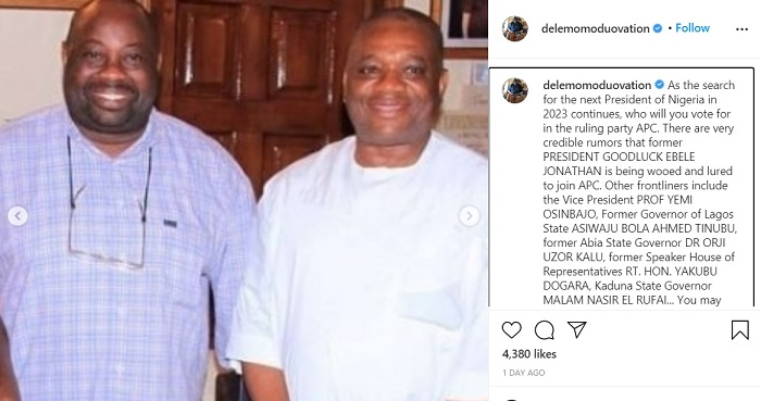 Sen. Orji Kalu makes the List as former Presidential Candidate reveals possible Next Nigeria's President