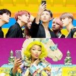 BTS and Nicki