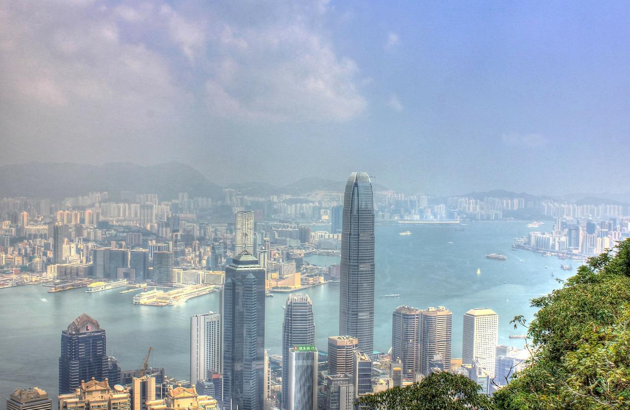 hong kong, china, buildings