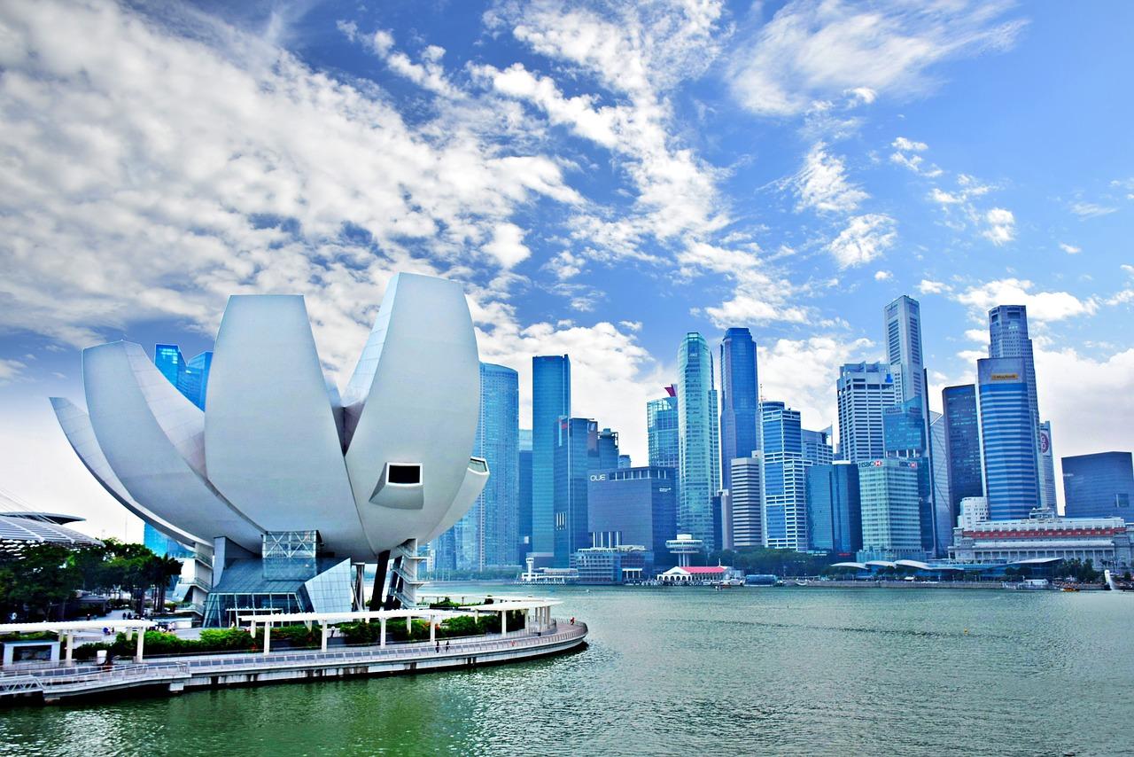 marina bay, singapore, ao