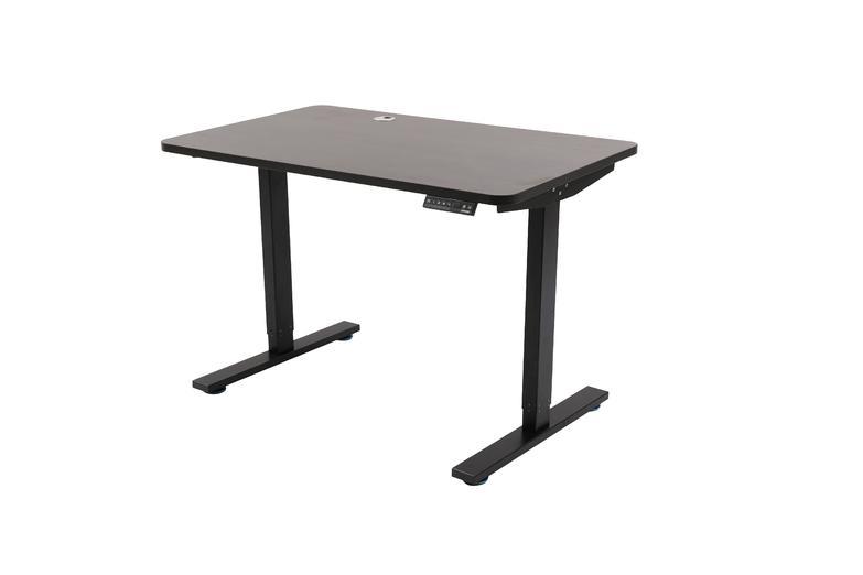effy black standing desk
