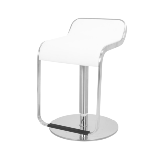 Hydraulic Bar Stool White