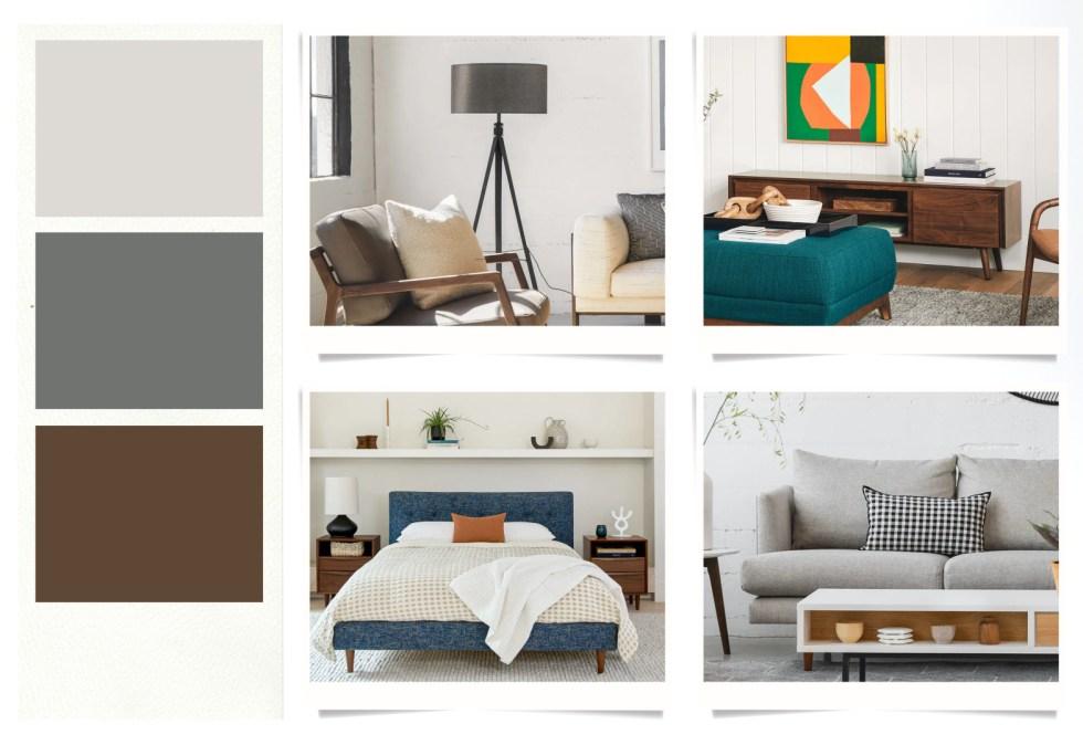 Mid-Century Modern Living One Bedroom Bundle