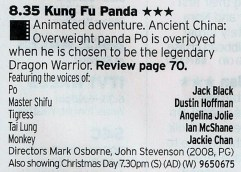 BBC3: Very possibly Dreamworks best film, although Kung Fu Panda 2 does get pretty close to it
