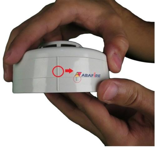 Detector de Fumaça Pontual Convencional com saída relé NA (Conventional Smoke Detector) código AFDF Imagem 02