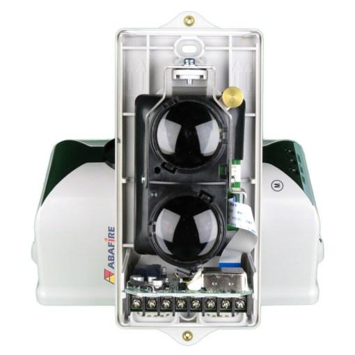 Detector de Fumaça Linear (Reflexive Beam Detector) Convencional e Autônomo com Saída Relé NA e NF, código C9105R - Imagem 12