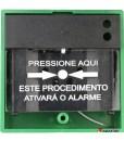 Acionador Manual e Botoeira de Comando Para Controle de Acesso e Emergência na Cor Verde com Relé NA/NF código AFAM3VD – Imagem 08