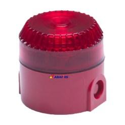 Sirene Audiovisual / Alarme Sonoro e Visual Para Áreas Externas (IP55) Tipo Estrobo com Tensão de 24 Volts codigo AFSVFPT - Imagem 06