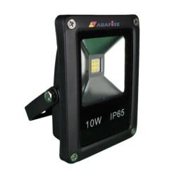 Refletor Projetor de LED com 12 Volts, 10 Watts e 1000 Lumens, Tipo Farol, código AFPROJLED12, Para Centrais de Iluminação de Emergência. Imagem 01