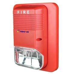 Sinalizador / Alerta Visual de Alarme de Incêndio em 24V com Flashes de Luz Xenon de Alto Brilho Tipo Estrobo código AFSXV - Imagem 02