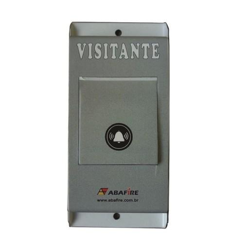 Botão de Acionamento da Campainha Sonora e Luminosa Wireless Para Quartos PNE / PCD