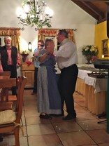 Oma celebrating her 80th (joint birthday party) and showing us how a Waltz is done!