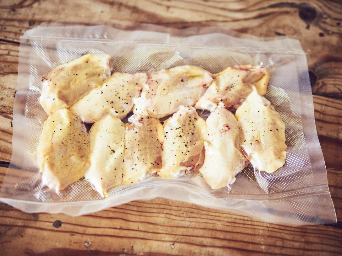 Alitas de pollo sous vide a baja temperatura Tapas24