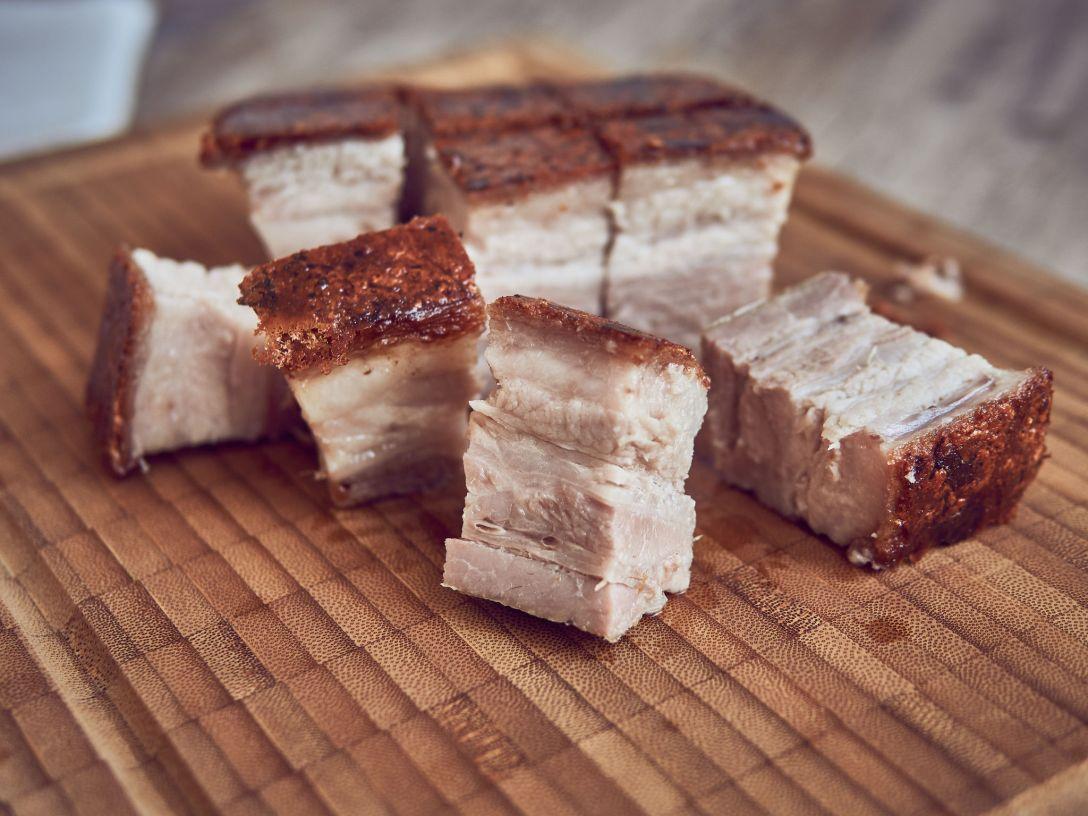 receta de panceta sous vide crujiente estilo cantonés