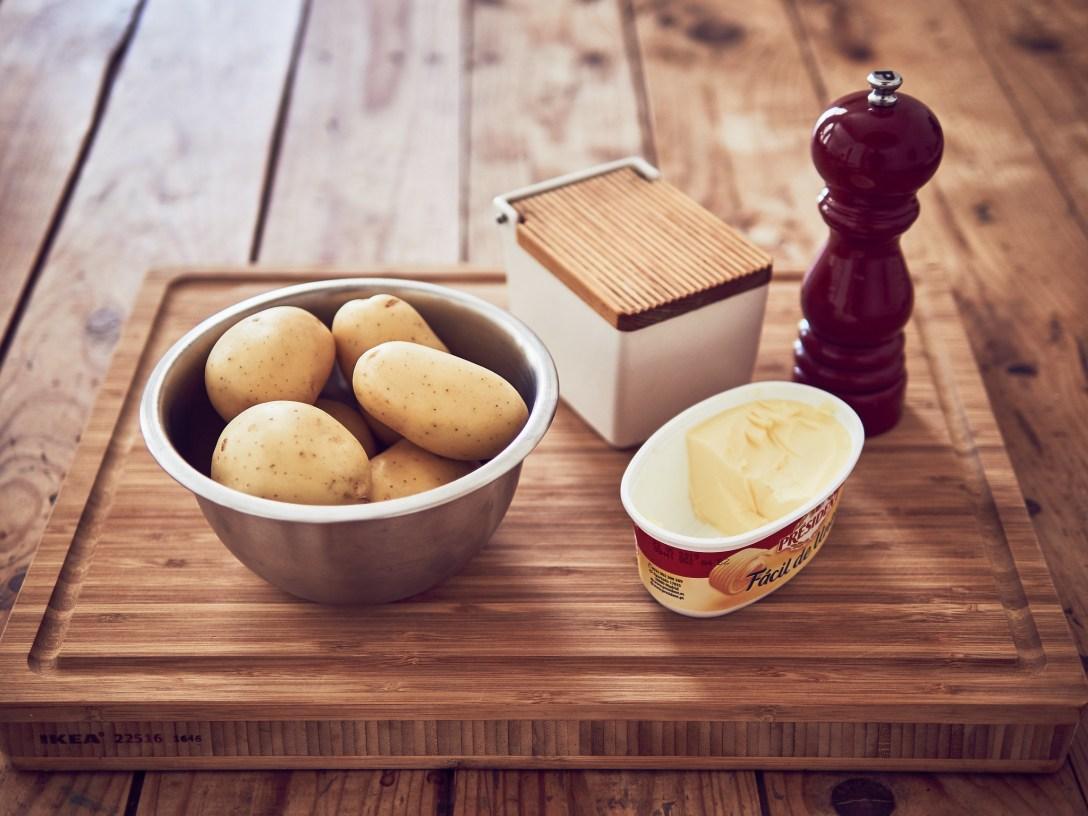 puré patatas sous vide