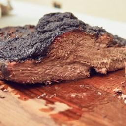 Cocinando un brisket al estilo Texas en Kamado