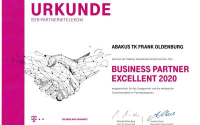 Auszeichung: abakus TK im Telekom-Dreamteam