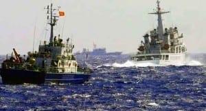CHINA AND VIETNAMESE NAVY