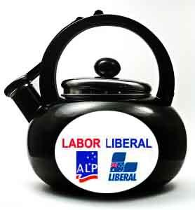 Political kettle