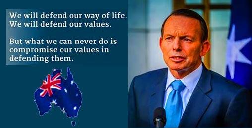 Tony Abbott defender