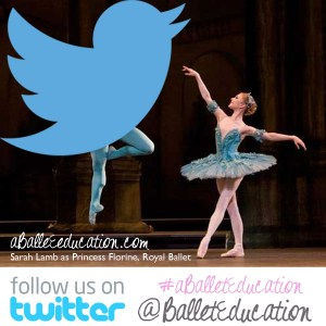 a ballet education on twitter