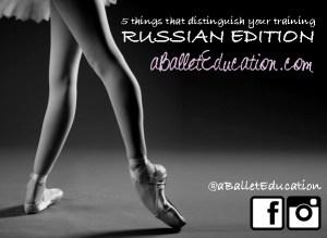 Vaganova School A Ballet Education