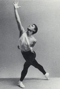 Edward Villella, retired artistic director of The Miami City Ballet, as Apollo in the 1950s at New York City Ballet. Photo by Martha Swope.