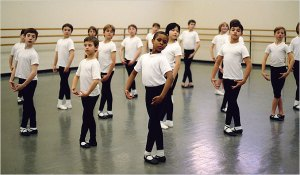 NYT feature on SAB boys for Nutcracker.