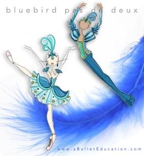 Blue Bird Pas De Deux