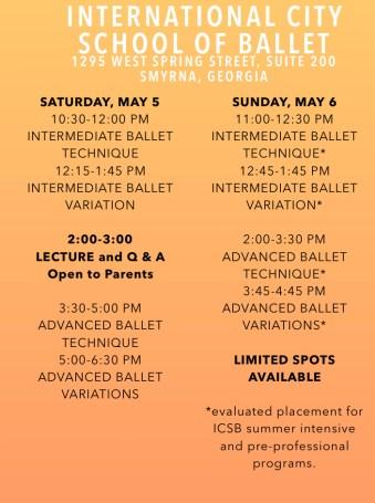 international city school of ballet