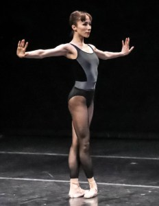 Entingh performing at BB@Home. Sabi Varga, Courtesy Boston Ballet.
