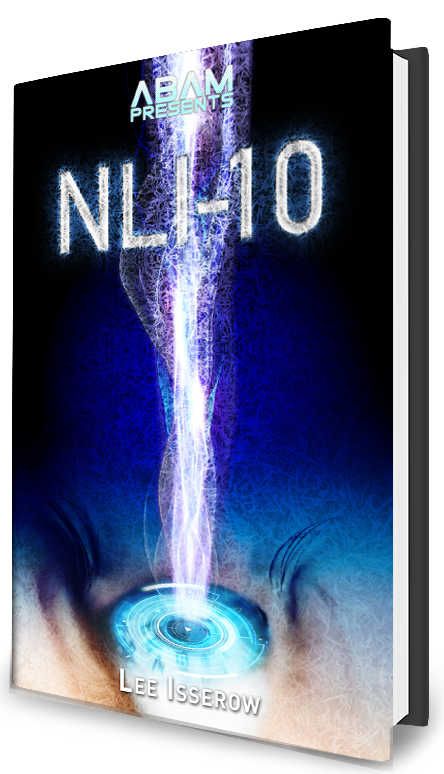 NLI-10 book cover scifi science fiction cyberpunk psychedelic paranoia corporate greed corruption conspiracy novel