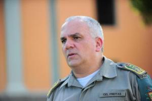 Coronel Alfeu Freitas terá de se aposentar até fevereiro porque a lei não permite mais de 35 anos de serviço a oficiais Foto: Felipe Nyland / Agencia RBS