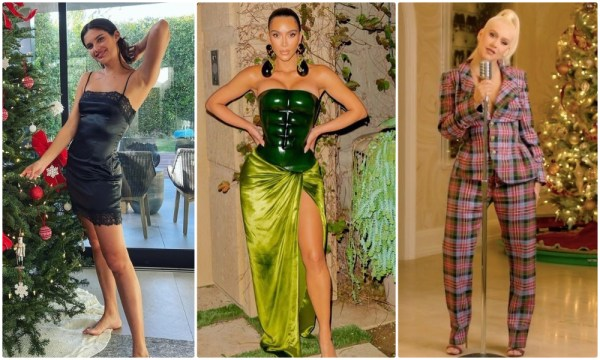 Celebrity Style Near The Christmas Tree | Who Wears What?