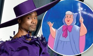Billy Porter Is New Fairy Godparent in Cinderella Film (2021) | Take a Look At His Styles