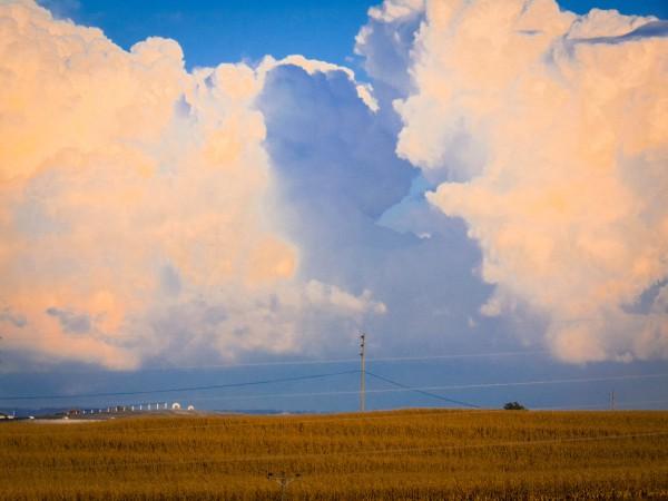 Thunderstorm in October, Nebraska-Eklund