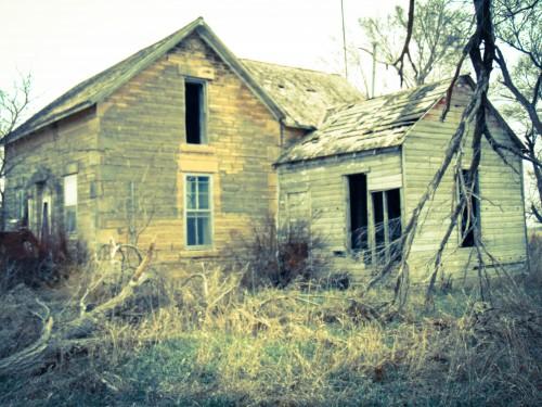 Abandoned House, Abandoned House, Kansas-Eklund