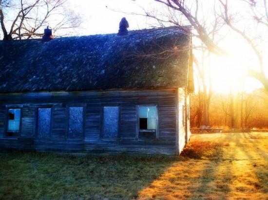 """""""Jerry's Place""""-Abandoned House Bennington, NE-Eklund"""