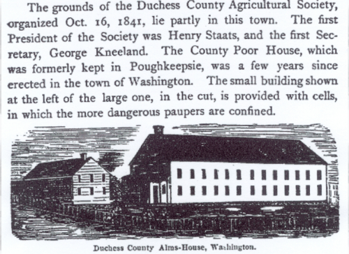 Wood-cut from General History of Dutchess County by Philip H. Smith (1877).