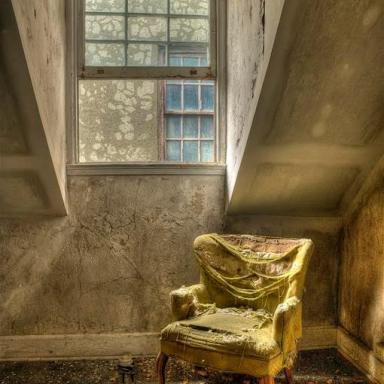 The iconic chair, seen at Bennett College, Millbrook NY Photo by Andy Milford