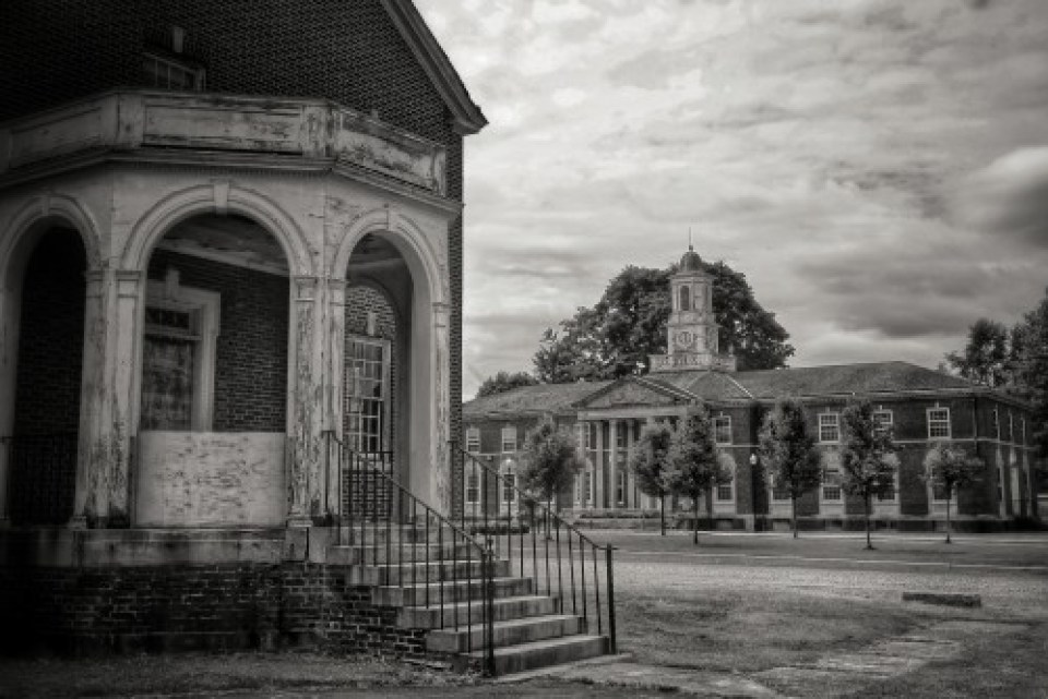 On the grounds of Fairfield State Hospital - Photo by Liz Cooke