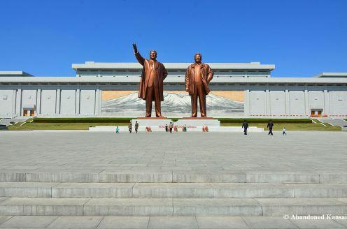 Statues Of Kim Il-sung And Kim Jong-il