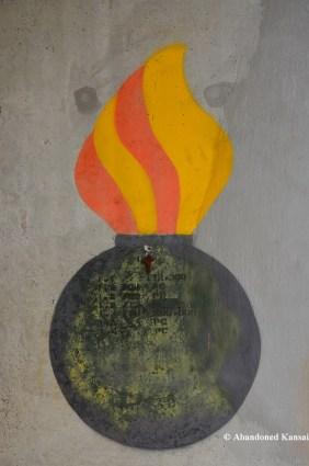 Flaming Bomb