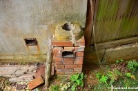 Destroyed Chimney