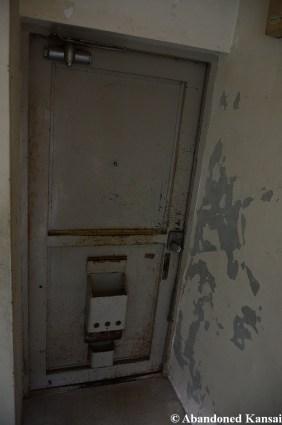 Rusty Scratched Entrance Door