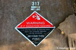 RF Radiation Hazard Sign