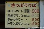 Amusement Park Price List
